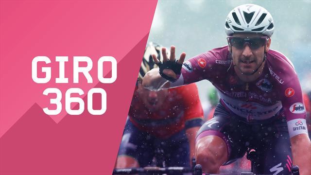 """""""Giro 360"""": Poker, bandiere e Simon Clarke... Tutto il meglio e il dietro le quinte della 17a tappa"""