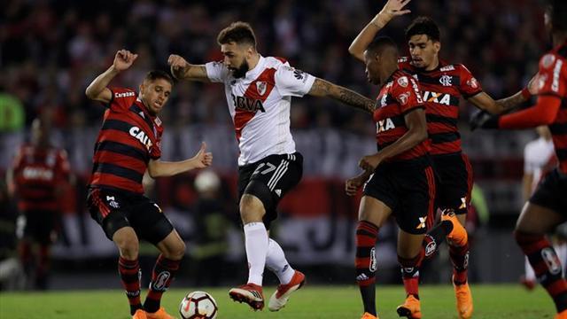 River y Armani definen con Flamengo el líder del grupo