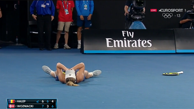 Caroline Wozniacki stopper karrieren: Gense den store Australian Open-triumf