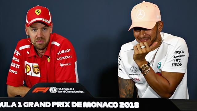 Vettel et Ferrari, un Rocher dans la chaussure d'Hamilton ?