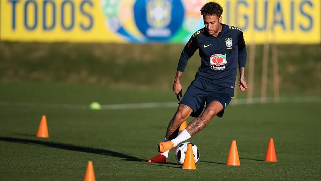 Neymar a participé à sa première opposition avec le Brésil