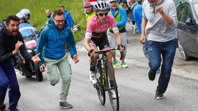 Yates tapte halve forspranget da brudd gikk hjem i Giroen