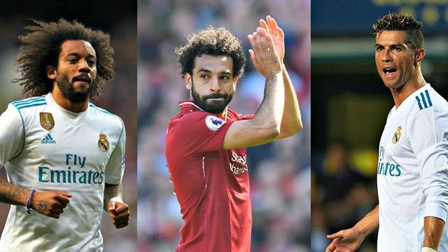 Marcelo, Salah, Ronaldo… Voici votre onze ultime avant Real Madrid - Liverpool
