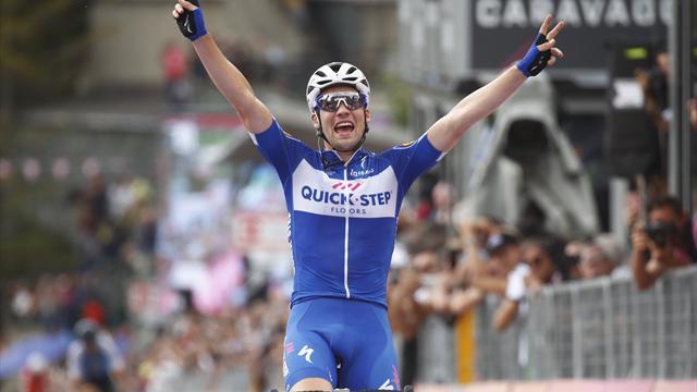 Schachmann wint de 18e Giro etappe!