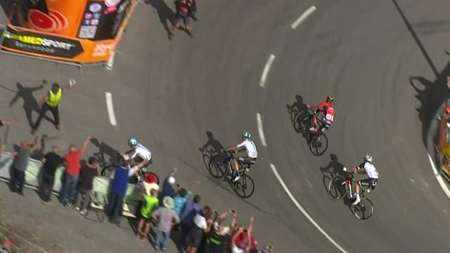 'Oh no!' - Wout Poels gets lost at the wrong moment