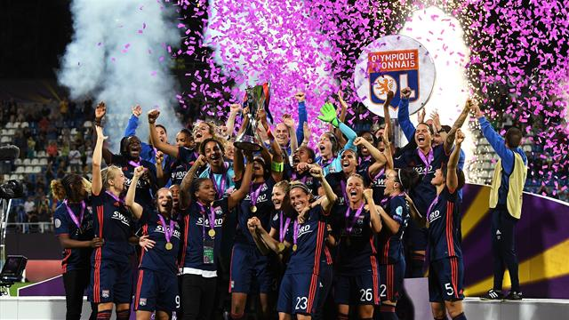 Lyon recover to win record fifth Women's Champions League crown
