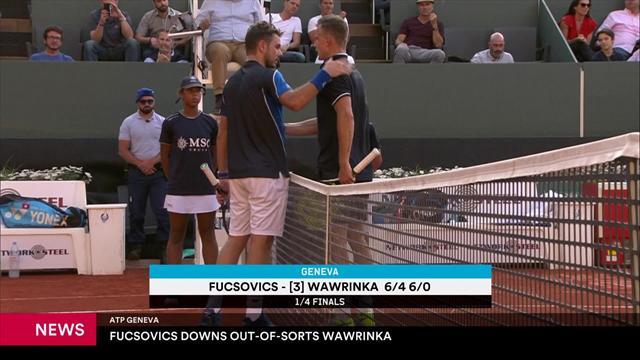 Auf Formsuche: Wawrinka scheitert an Fucsovics