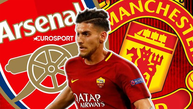 Euro Papers: Arsenal to battle United for Roma star
