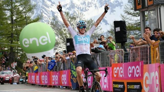 Крис Фрум победил на«Джиро-2018»