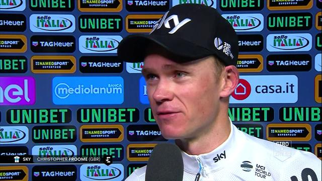 'The team did such a fantastic job to set that up for me' - Froome pays tribute to team-mates