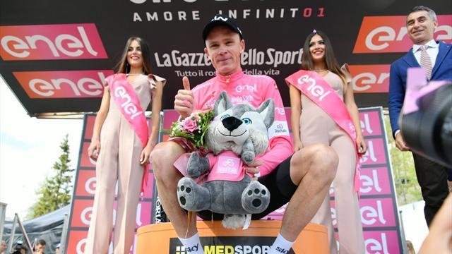 Giro d'Italia 2018: tutte le tappe da Gerusalemme a Roma