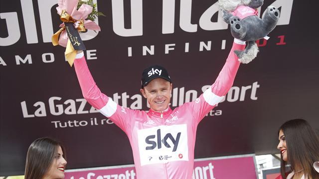 Un incroyable numéro et Froome renverse le Giro