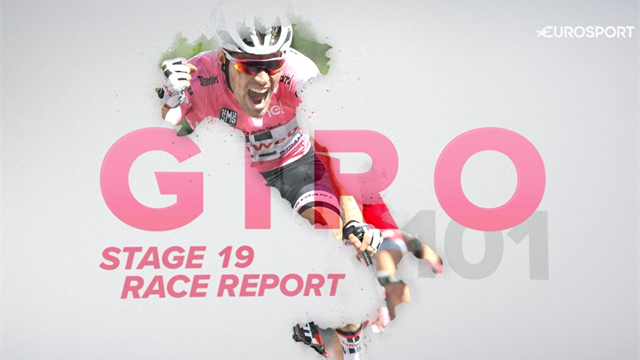 GCN Giro Daily: Stage 19 - Chris Froome capitalises on Tom Dumoulin's 'big, big error'