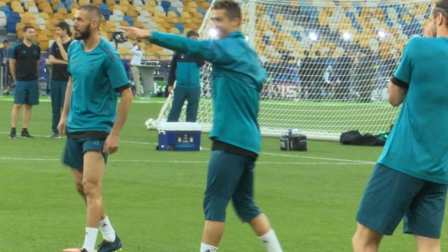 Finale - Dernier entraînement dans la bonne humeur pour Ronaldo et le Real