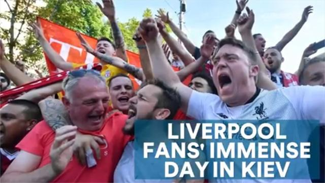 Liverpool fans' immense day in Kiev