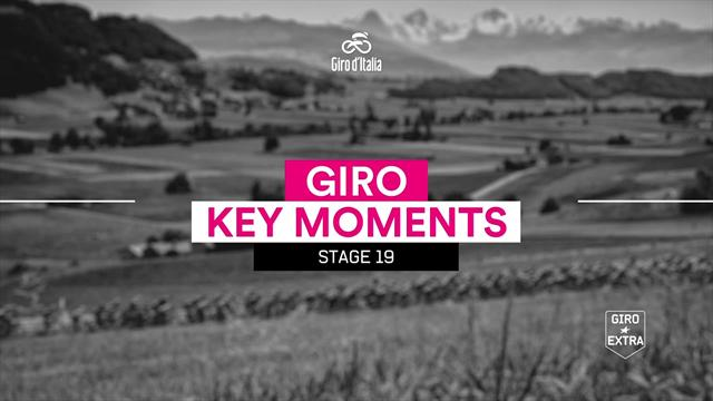 Giro de Italia2018 (19ª etapa): Los momentos de una jornada para la historia
