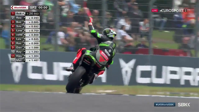 Sykes sets new superpole record