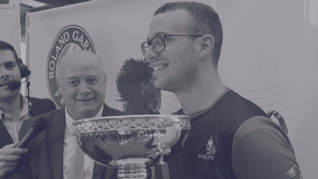Un nouveau champion à Roland-Garros !