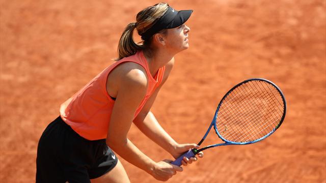 Maria Sharapova salta anche Roma! Il problema alla spalla persiste