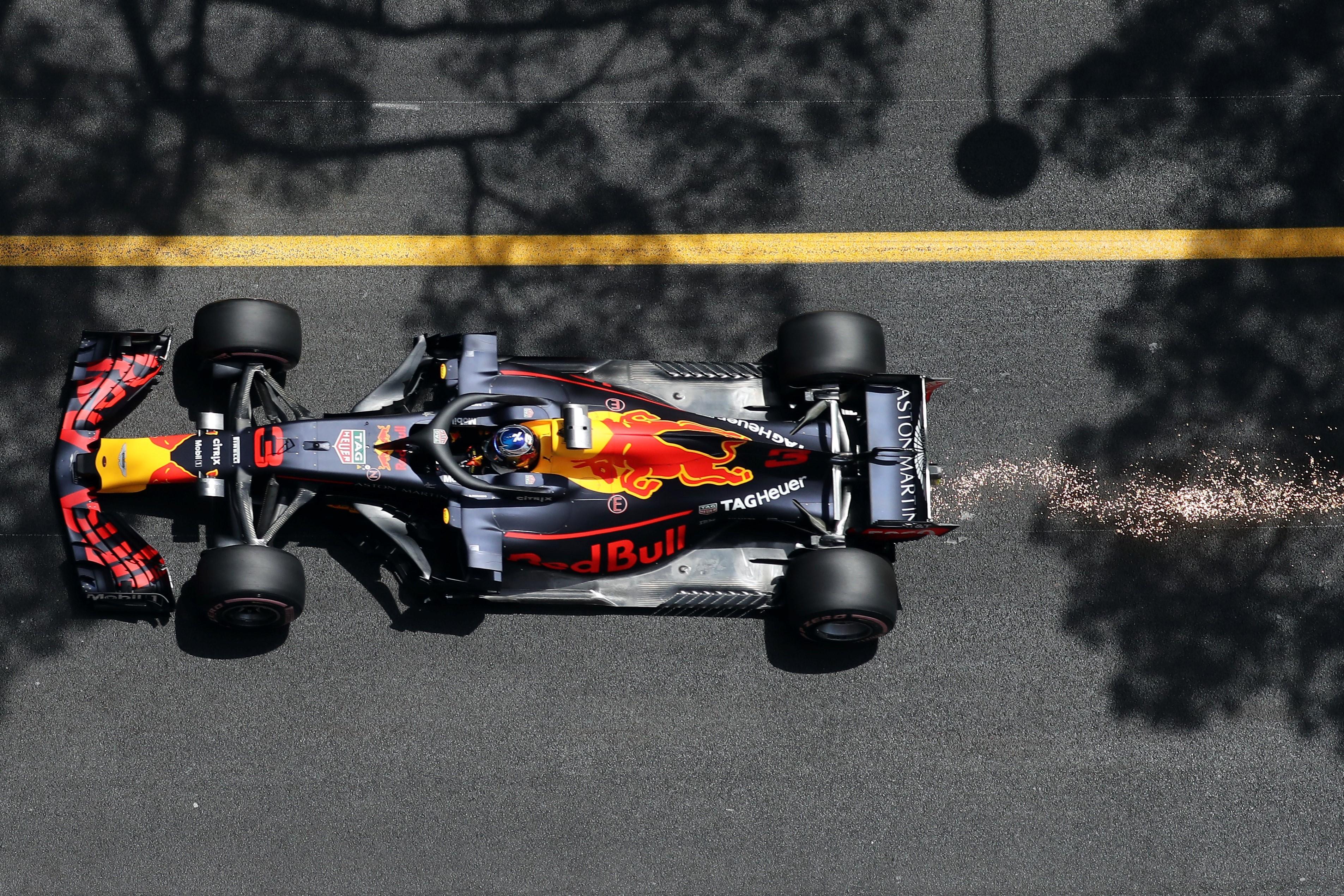 Daniel Ricciardo (Red Bull) au Grand Prix de Monaco 2018