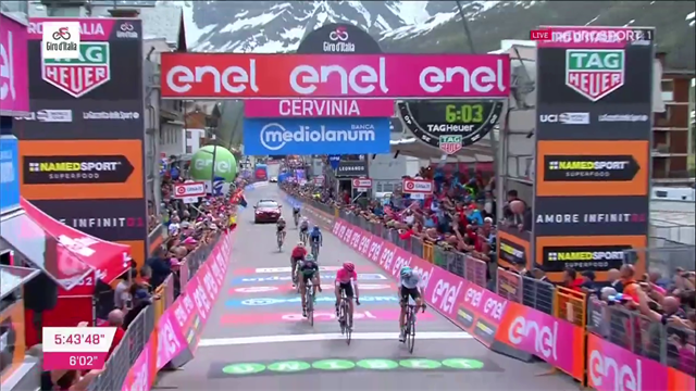 Här vinner Chris Froome Giro d'Italia