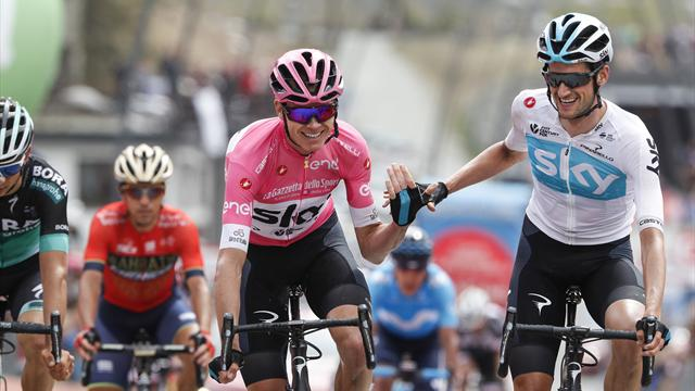 Froome on brink of famous Giro triumph as Nieve wins Stage 20