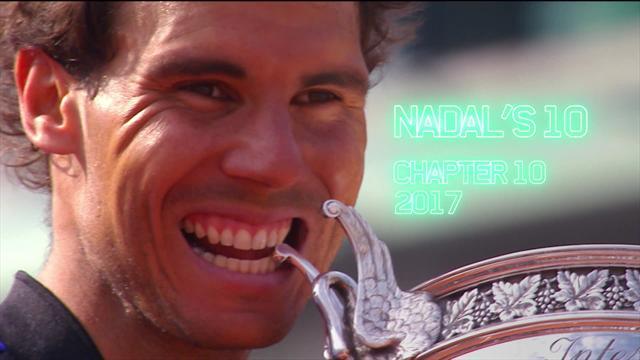 Relive: How Nadal clinched La Decima