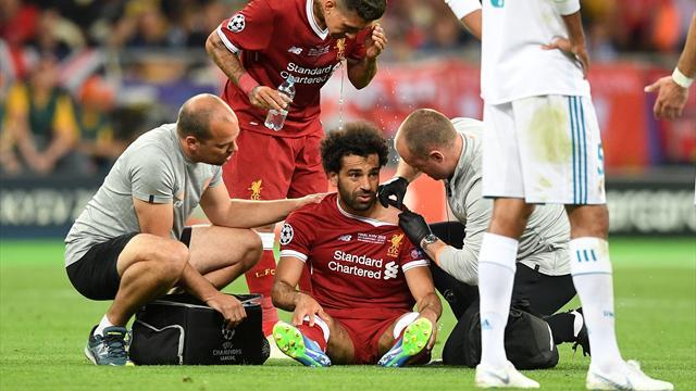 """Salah """"confiant"""" sur sa participation malgré sa blessure"""