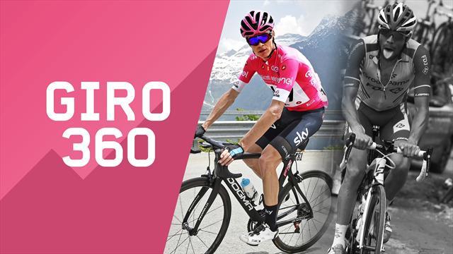 """""""Giro 360"""": Froome rosa, Pinot nero... Tutto il meglio e il dietro le quinte della 20a tappa"""