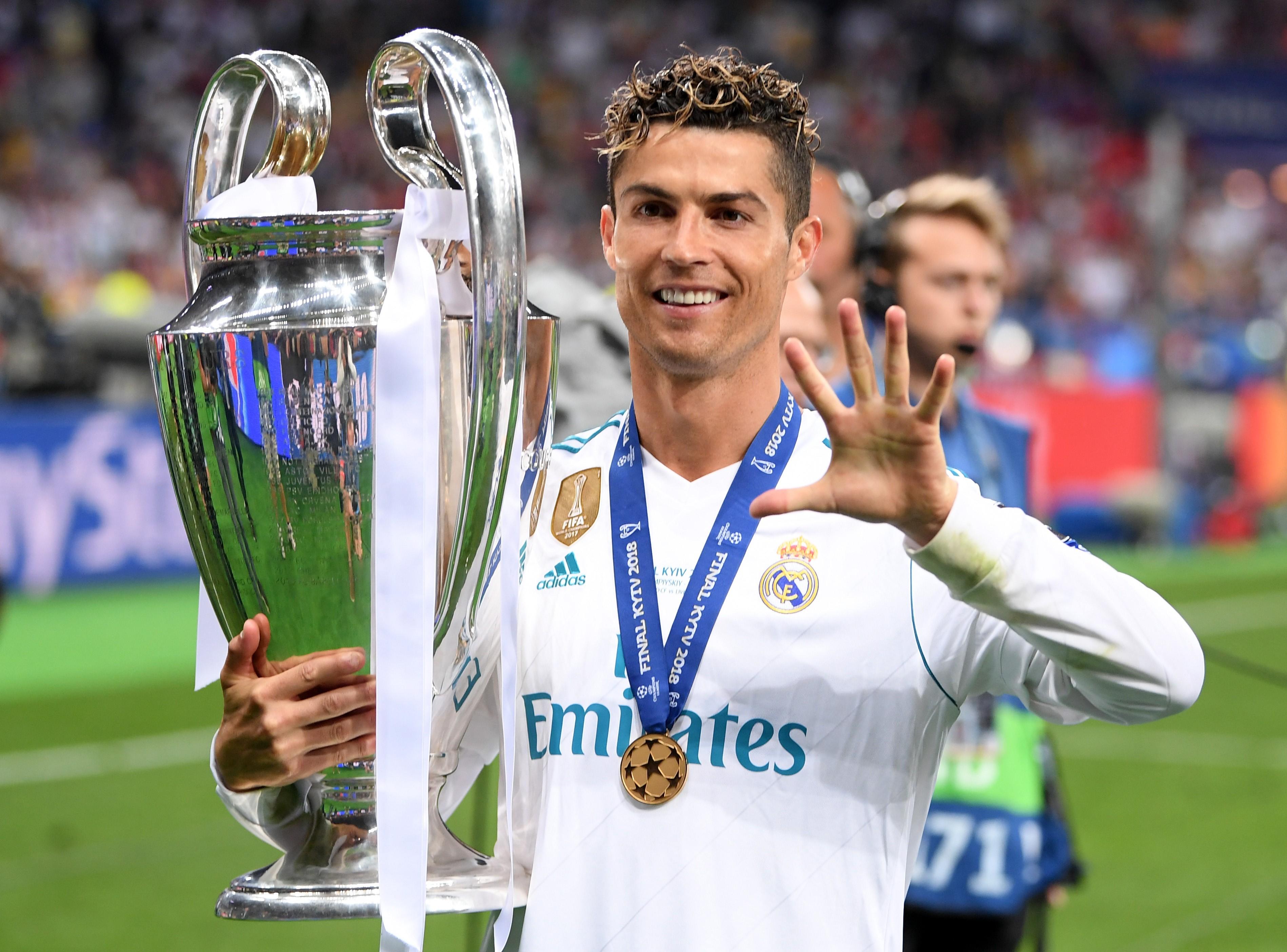 Final Champions Kiev Real Madrid Liverpool Cristiano Ronaldo