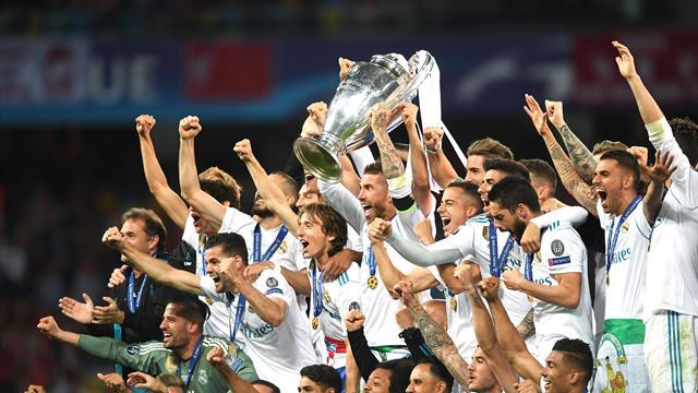 УЕФА представил символическую сборную Лиги чемпионов из 20 футболистов. 8 из них – «галактикос»