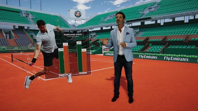 Roland Garros 2018, The Coach: Lo que debe mejorar Dimitrov para crecer en París