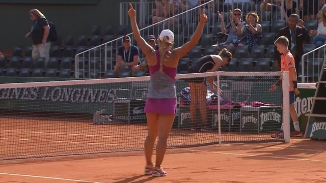 Highlights: Konta beaten by Putintseva