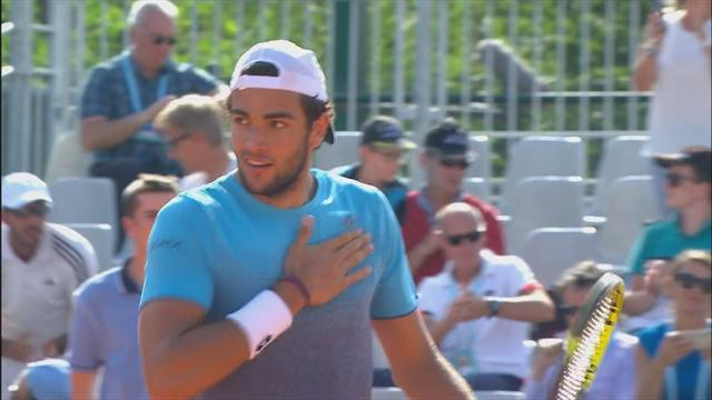 Roland Garros: Berrettini-Otte 3-6, 7-5, 6-2, 6-1, highlights