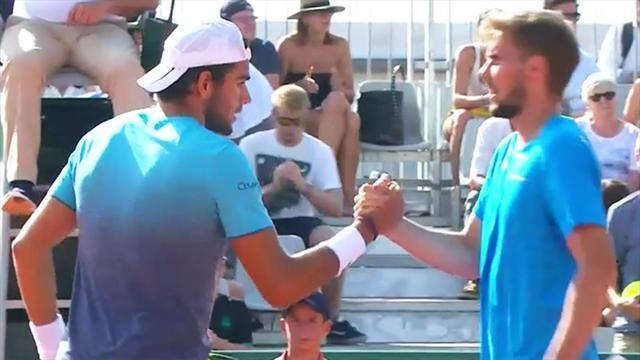 French Open: Otte scheitert an Berrettini (Highlights)