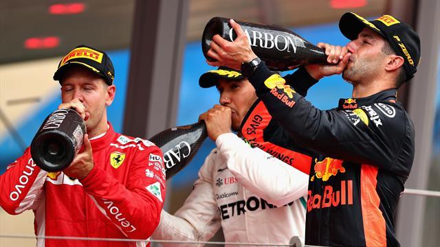 Bonus-malus : Ricciardo, Ocon et Gasly princiers