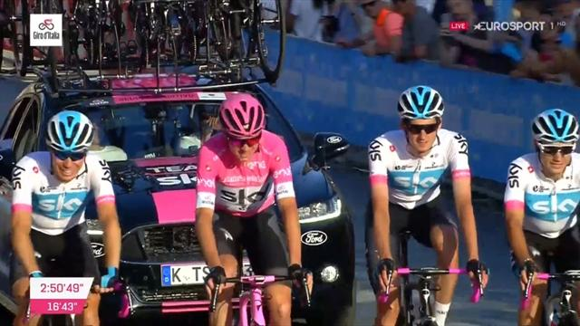 Giro de Italia 2018 (21ª etapa): Chris Froome sella su triple corona con su entrada triunfal en Roma