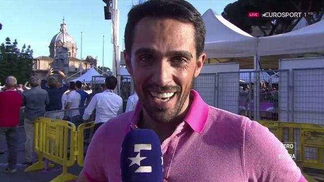 """Giro de Italia 2018: Contador lo tiene claro, """"ha sido una carrera incontrolable"""""""