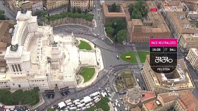 Höjdpunkter: Så var den sista etappen av Giro d'Italia