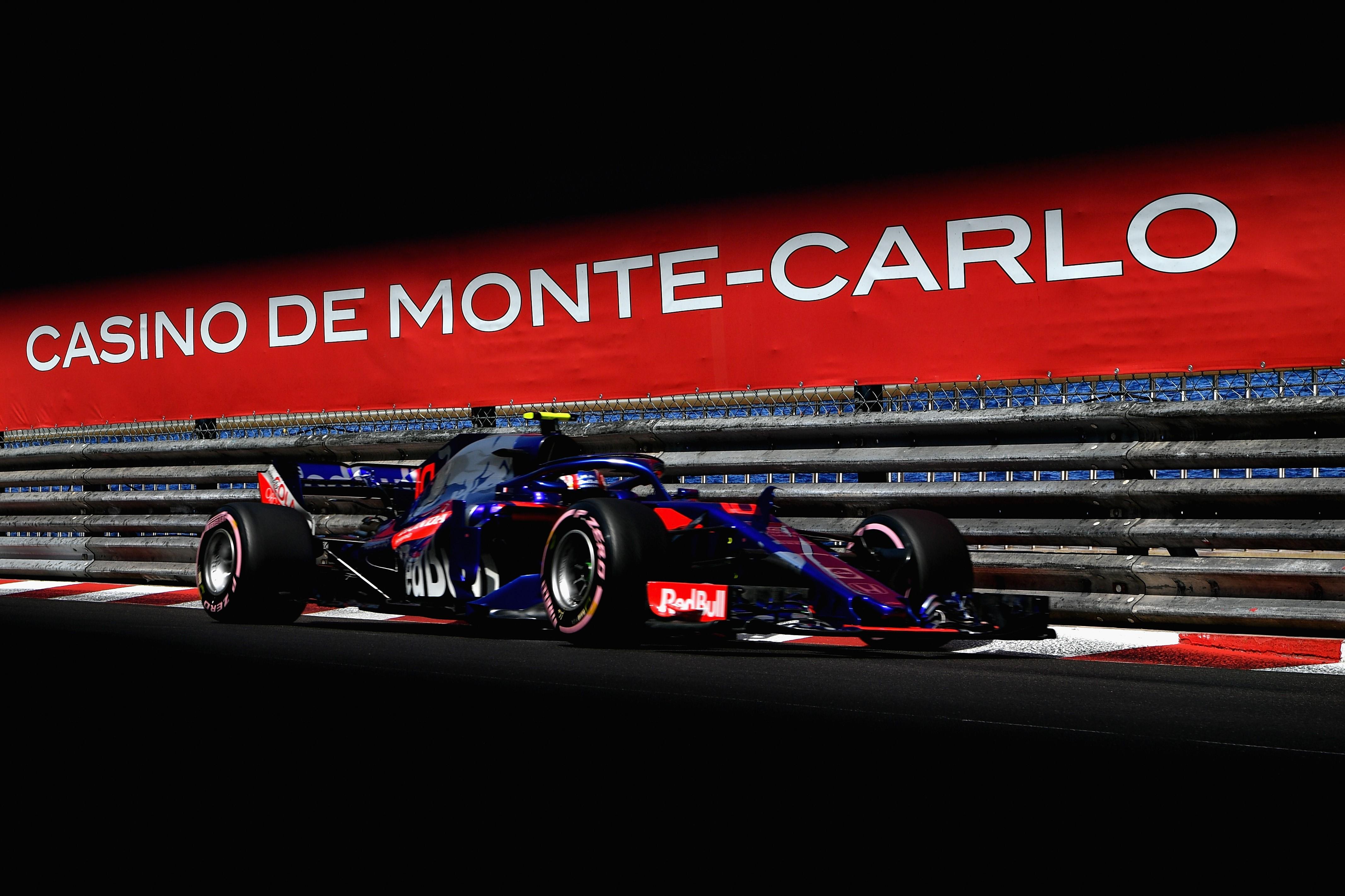 Pierre Gasly (Toro Rosso) au Grand Prix de Monaco 2018