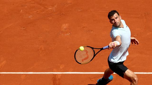 Le Bulgare Grigor Dimitrov éliminé dès le 3e tour
