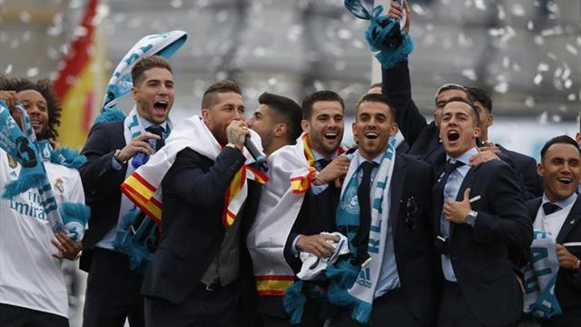Horario y recorrido de las celebraciones del Real Madrid