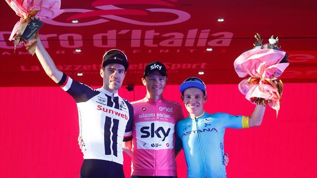 Giro de Italia 2018: Froome, Yates, Nieve, Viviani y más nombres de una edición legendaria