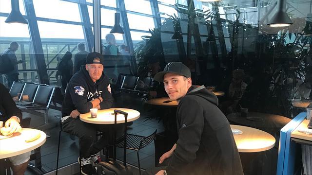 Ordknapp Bendtner forlot Norge