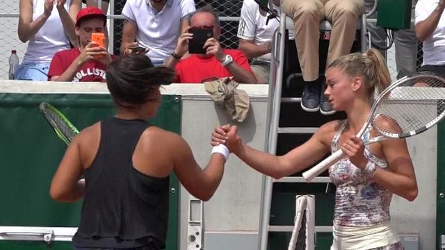 Roland Garros: Camila Giorgi-Grace Min 6-3, 6-2, highlights
