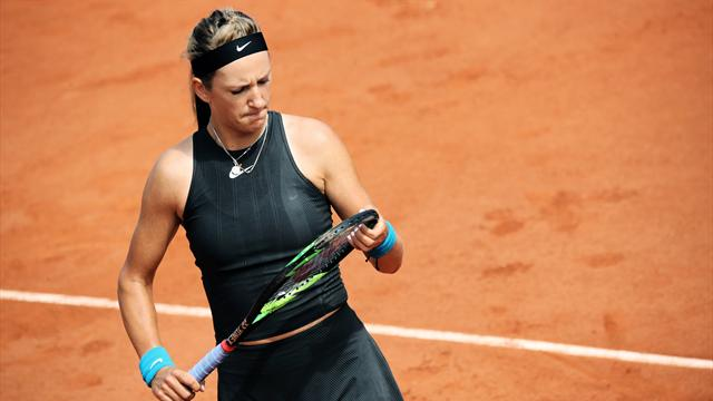 Azarenka'nın Roland Garros serüveni kısa sürdü