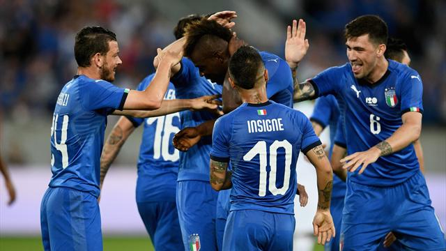 Balotelli a redonné un peu le sourire à l'Italie de Mancini