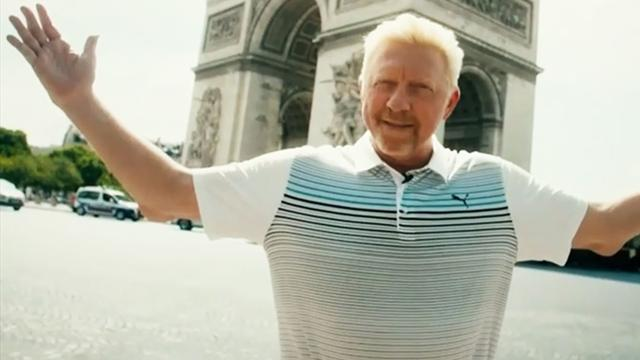 Mon Paris: Becker erobert die Champs-Élysées