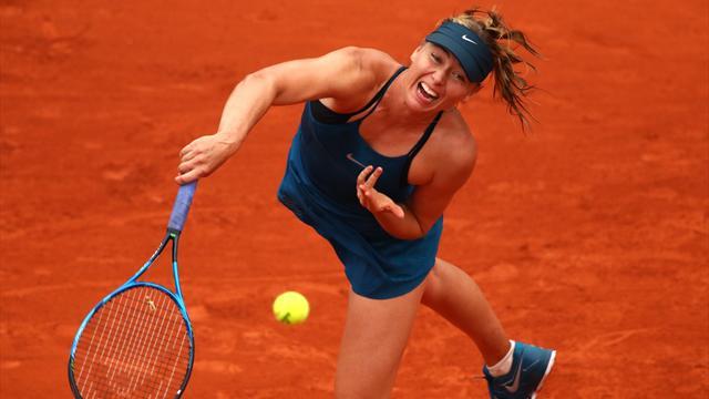 Sharapova retrouvera Pliskova au troisième tour — Roland-Garros