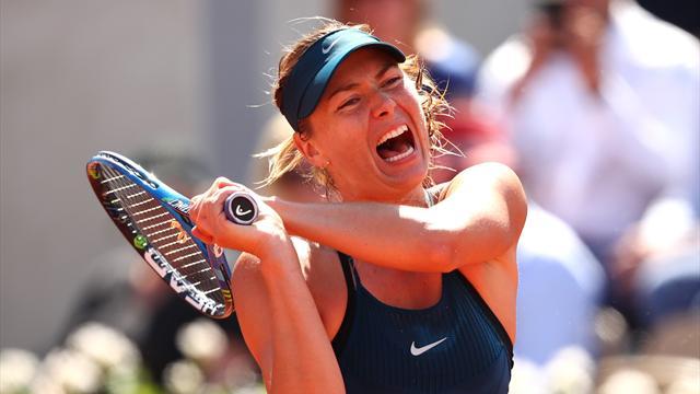 Sharapova surclasse Pliskova et file en huitièmes de finale — Roland-Garros
